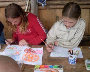 ilustračné foto z detského vedomeckého vzdelávania Na Medzi