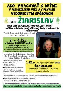 1. – 3.12. Žiarislav v Košiciach