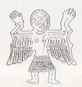 Zobrazenie slovanského obradníka zo Solúna z obdobia pred pokresťančením časté aj v období dvojviery.