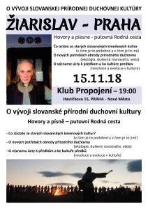 Žiarislav – v Prahe 15.11.