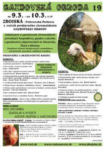 9.-10.3.19 – Gazdovská Obroda – Zbojská